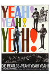 A Hard Day's Night, German Movie Poster, 1964 Prints