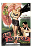 Cover Girl, Spanish Movie Poster, 1944 Posters