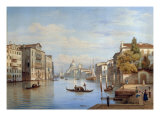 The Grand Canal, Venice, 1847 Giclee Print by Salomon Corrodi