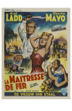 The Iron Mistress, Belgian Movie Poster, 1952 Poster