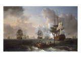 The Battle of the Nile, 1st August 1798, 1801 Giclee Print by William Anderson