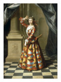 Portrait of Mrs Hester Booth, the Dancer (1680-1773) Giclee Print by John Ellys