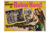 The Adventures of Robin Hood, Mexican Movie Poster, 1938 Prints