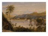 The Temple of the Tooth, Kandy, Ceylon, c.1852 Giclee Print by Andrew Nicholl