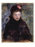La Jeune Femme a la Toque, c.1882 Posters by Mary Cassatt