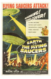 Earth vs. the Flying Saucers, 1956 Posters