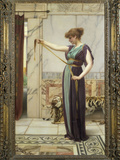 A Pompeian Lady, 1891 Impresso gicle por John William Godward