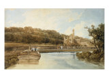Kirkstall Abby, Yorkshire, 1802 Prints by Thomas Girtin
