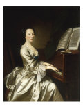 Portrait of Mrs Benjamin Giclee Print by Thomas Hudson