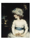 Simplicity - Portrait of Miss Theophilia Gwatkin, c.1789 Poster by Sir Joshua Reynolds