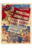 Mister Roberts, French Movie Poster, 1955 Posters