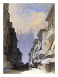 The Cathedral, Milan Prints by William Callow