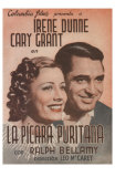 The Awful Truth, Spanish Movie Poster, 1937 Photographie