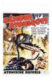 Them!, Belgian Movie Poster, 1954 Print