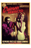 Dial M For Murder, Spanish Movie Poster, 1954 Posters