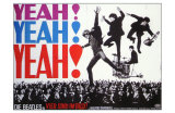 A Hard Day&#39;s Night, German Movie Poster, 1964 Prints