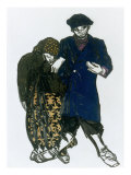 Costume Design for Lachete in 'Spectacle d'Art Russe', 1922 Posters by Leon Bakst