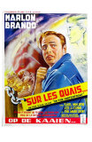 On the Waterfront, Belgian Movie Poster, 1954 Poster