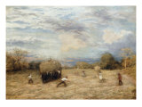 Hay and Haste, 1875 Giclee Print by John Linnell