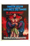Planet of the Apes, Belgian Movie Poster, 1968 Posters