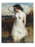 The Bather Art by William Etty