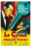 Dial M For Murder, French Movie Poster, 1954 Posters