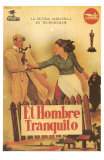The Quiet Man, Spanish Movie Poster, 1952 Print
