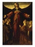 The Madonna della Misericordia Giclee Print by Alessandro Bonvicino