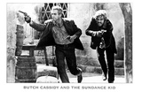 Butch Cassidy and the Sundance Kid, 1969 Print