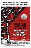 Bridge on the River Kwai, 1958 Plakát