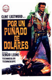 A Fistful of Dollars, Spanish Movie Poster, 1964 Photo
