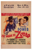 The Mark of Zorro, 1940 Plakater
