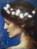 Night, c.1880-85 Poster by Edward Robert Hughes