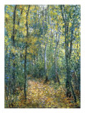 Sous-Bois, 1876 Giclee Print by Claude Monet