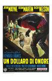 Rio Bravo, Italian Movie Poster, 1959 Prints