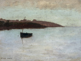 Barque De Pecheur, c.1875-1880 Poster by Odilon Redon