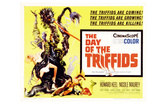 The Day of the Triffids, UK Movie Poster, 1963 Julisteet