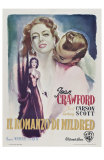 Mildred Pierce, Italian Movie Poster, 1945 Prints