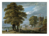 The Church at Hampton on the Thames Prints by Paul Sandby