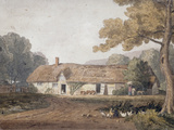From a Folio of Watercolours (Manor house), 1812 Giclee Print by Joshua Cristall