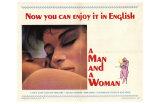 A Man and a Woman, 1966 Posters