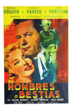 Escape from Fort Bravo, Argentine Movie Poster, 1953 Posters