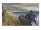 Finale in the Gulf of Genoa Giclee Print by Edward Lear