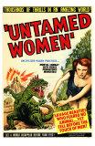 Untamed Women, 1952 Posters
