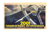 2001: A Space Odyssey, French Movie Poster, 1968 Poster