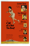 Cat On a Hot Tin Roof, 1958 Print