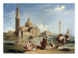 Church of San Georgio Giclee Print by Edward Pritchett