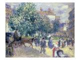 Place de la Trinite, 1875 Posters by Pierre-Auguste Renoir
