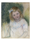 Sara Regardant Vers La Droite, c.1901 Prints by Mary Cassatt