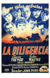 Stagecoach, Spanish Movie Poster, 1939 Posters